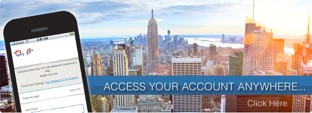 Access your account from anywhere.